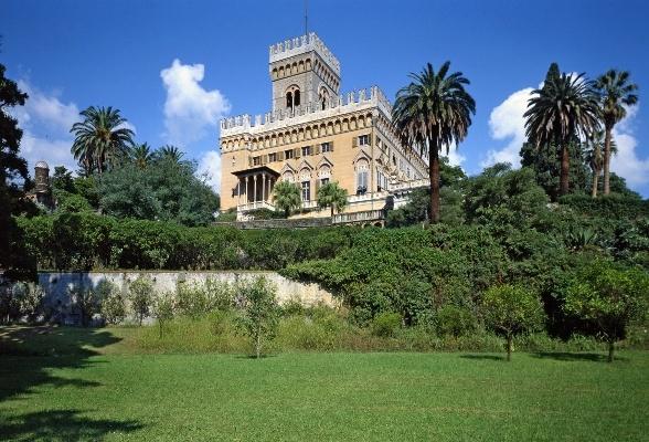 Villa Negrotto Cambiaso ad Arenzano #Genova #Liguria con il bellissimo Parco a misura di bimbo