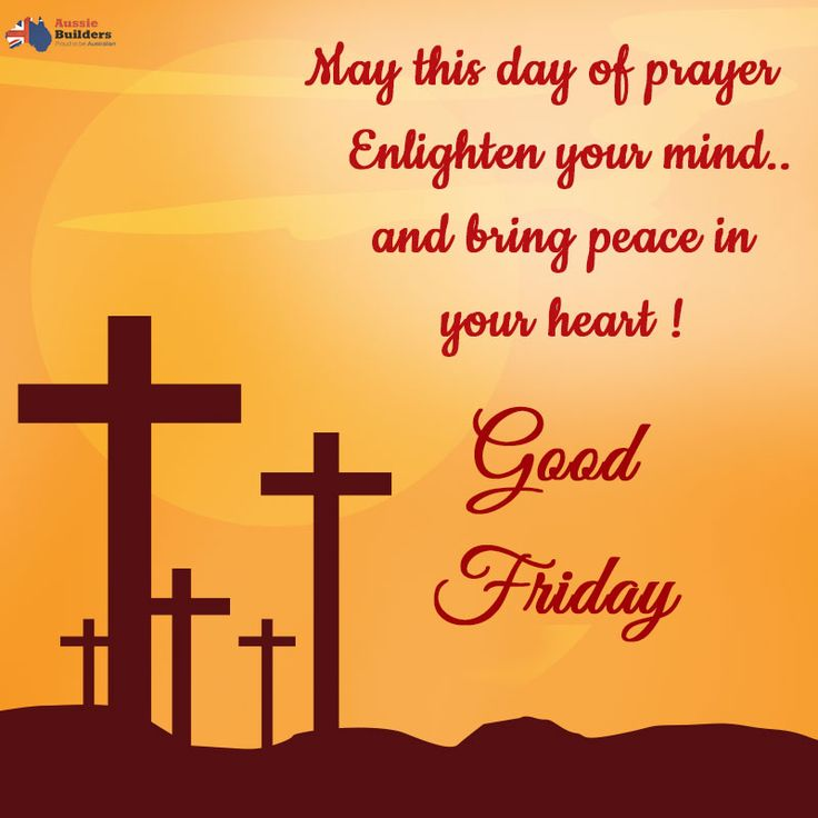 Praying that the lord fills your heart with peace, holds you in his love and blesses you with his grace... #AussieBuilders wishes you all a #GoodFriday