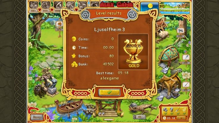 Farm Frenzy Viking Heroes Adventure Ljusalfheim 3 GOLD Веселая ферма Викинги Сюжетная Льесальвхейм 3