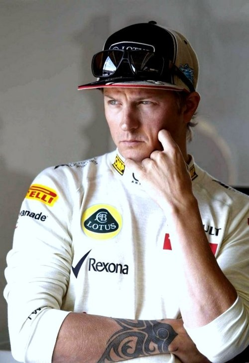 Kimi Raikkonen looking serious (as always) ;) #F1 #CanadianGP