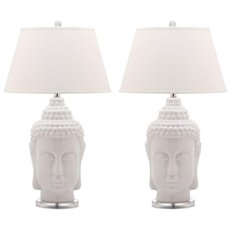 Safavieh Lighting 31-inch Serenity Buddha Lamp