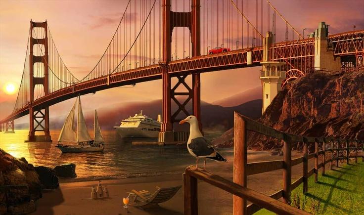 Gardens of Time | Golden Gate Bridge