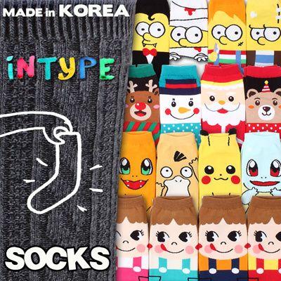 [S$0.65]★Free gift Event[5+1 / 10+2 / 20+4 ]Korean Best selling socks updated! MADE IN KOREA SOCKS WOMEN fashion man men kid kids socks / GIRL / /LOAFER / halloween / invisible Intype socks