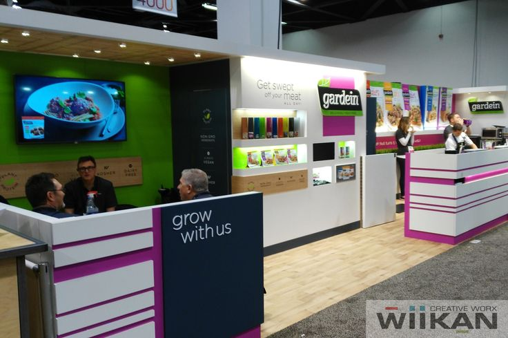GARDEIN - Scalable 40x10ft Custom Trade-Show booth for ExpoWest and NRA 2016