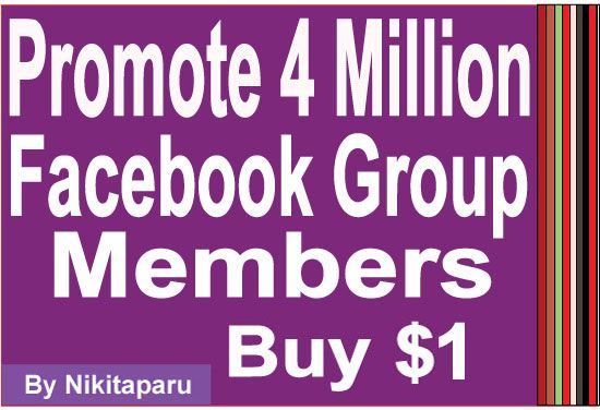 http://aDollarSEO.com/ will Promote your website to 4 Million FB Group User for $1 Dollar via @aDollarSEO