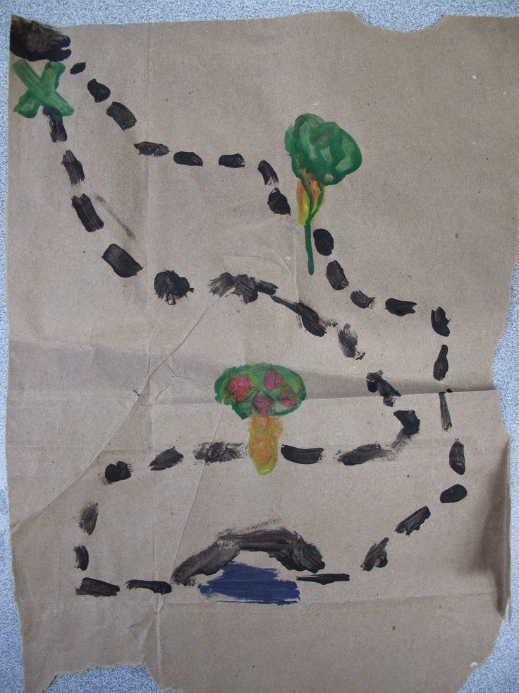 MC Preschool X Marks The Spot Making Treasure Maps