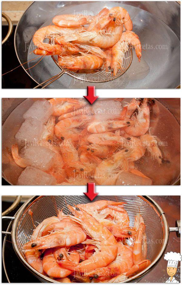 Mira que fácil es cocer los #langostinos en casa para tu cena de #Nochevieja ;)  http://www.javirecetas.com/como-cocer-langostinos/