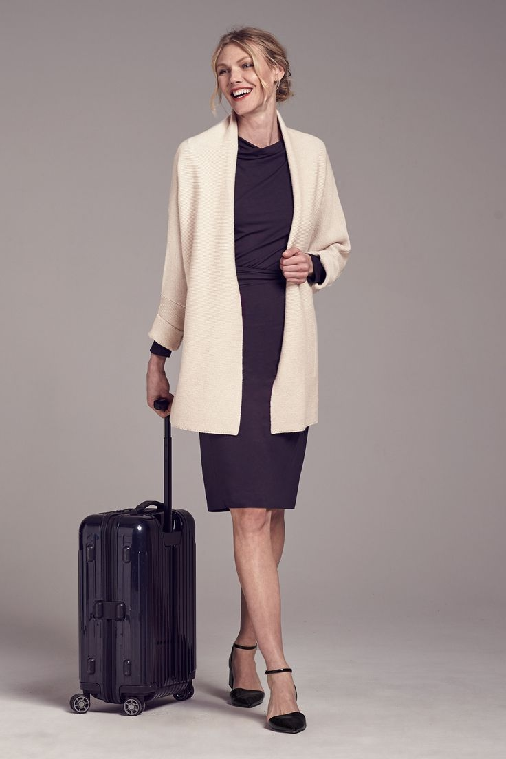 6 simple outfits to pack for business travel