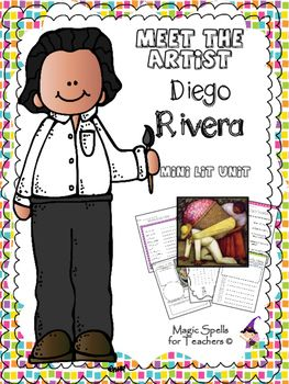 Meet the Artists! Tired of the same biography units year after year? Introduce your students to the world's greatest artists. Mini Lit Unit with over 20 Printables!