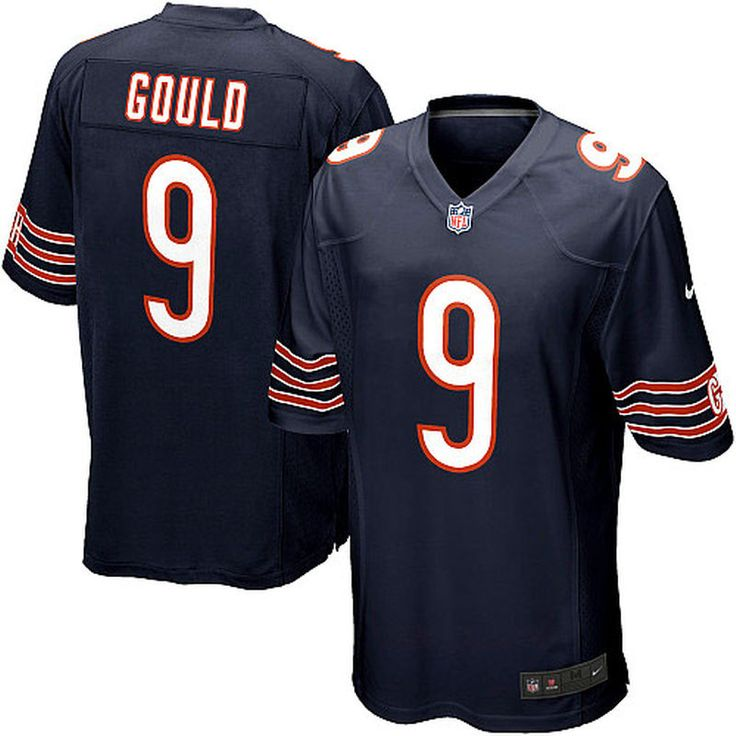 Robbie Gould Chicago Bears Nike Youth Team Color Game Jersey - Navy Blue