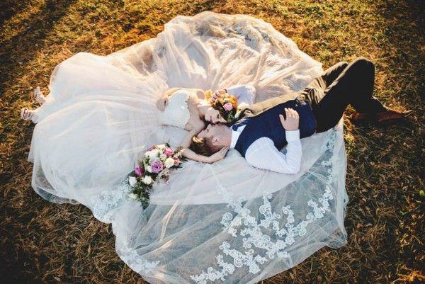 Bohemian Iowa wedding at the Rustic Rose Barn