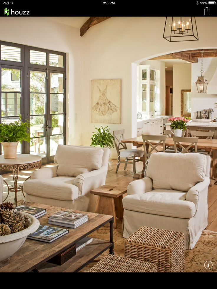 Traditional French Country Home