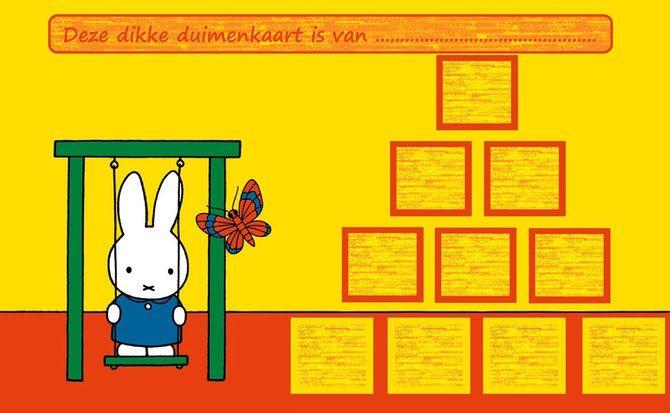Nijntje - Website of dikkeduimenkaarten!