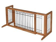 [$61.63 save 61%] Adjustable Indoor Solid Wood Construction Pet Fence Gate Free Standing Dog Gate http://www.lavahotdeals.com/ca/cheap/adjustable-indoor-solid-wood-construction-pet-fence-gate/134724