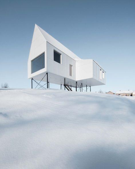 Studio Delordinaire - Maison sur pilotis - Québec (Canada)