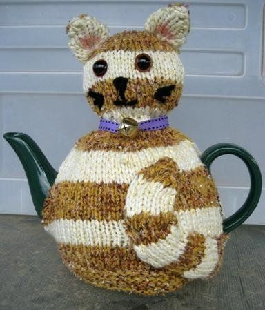 Animal Tea Cosy Knitting Patterns Tea cozy Pinterest ...