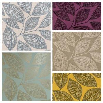 Pebble Leaf Wallpaper