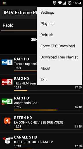 b]IPTV Extreme Pro v51.0 [Patched][/b] 	Requirements: 4.1+ 	Overview: Watch IPTV from your service provider or free live TV channels from the WEB.   	  	 	If you usually use VLC or IPTV bouquet for Dreambox to watch TV this app is for you. 	I suggested to install VLC for Android, or better, MX...