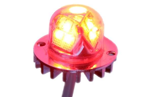h2100 led hideaway strobe light red led hideaway lights from 911. Black Bedroom Furniture Sets. Home Design Ideas