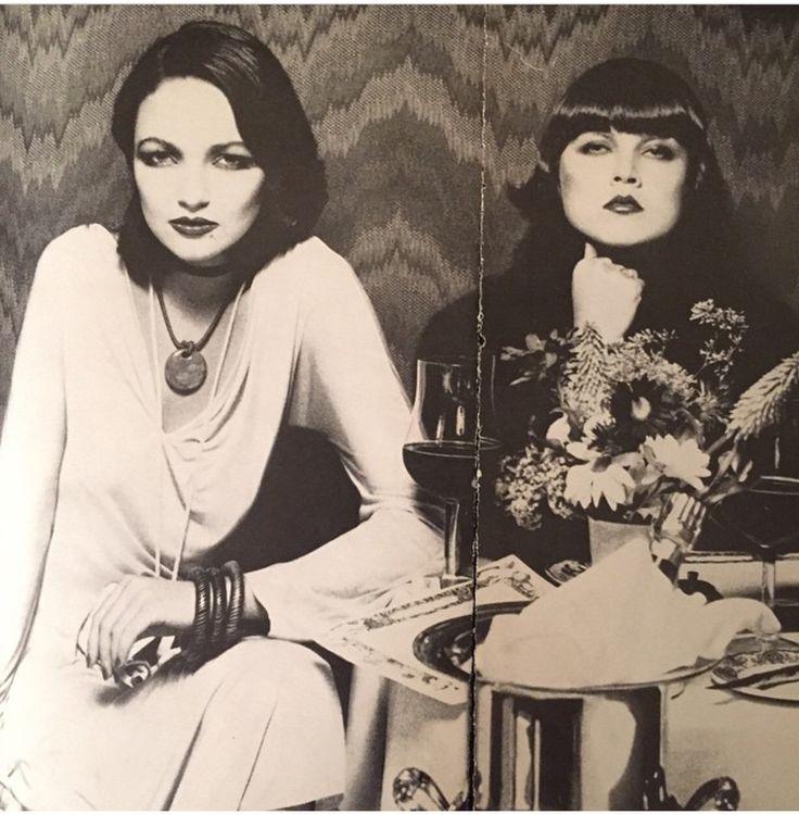 Nina Gaidarova & Sandy Linter for Vogue 1975 Shot by Bob Richardson.