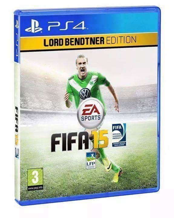 FIFA stworzyła specjalną edycję na cześć Nicklasa Bendtnera • FIFA 15 - Edycja Lorda Bendtnera już w sklepach • Wejdź i zobacz mem >> #fifa #football #soccer #sports #pilkanozna