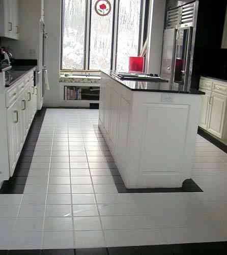 101 best Kitchen Floor images on Pinterest Kitchen floor - kitchen floor tiles ideas