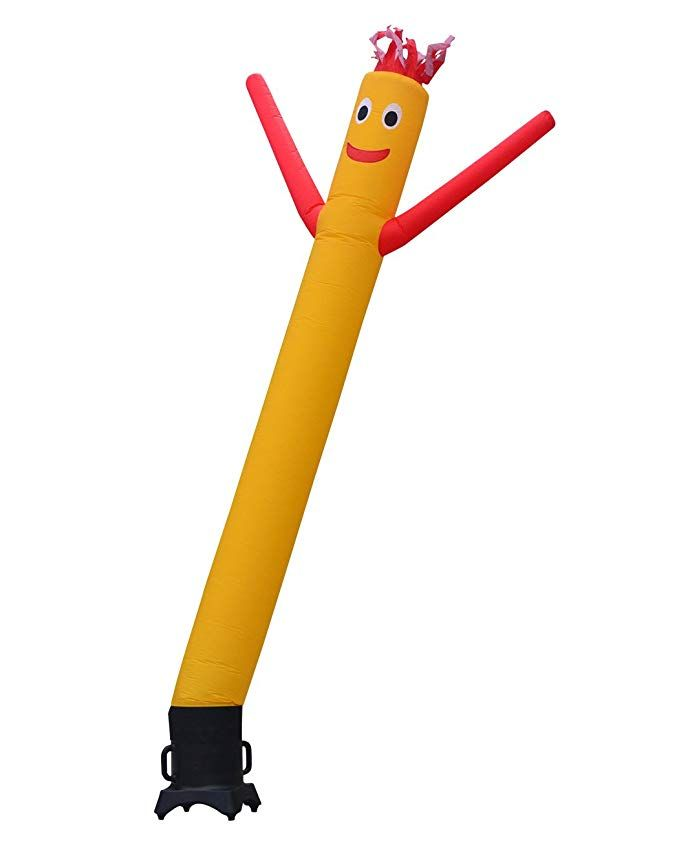 10-Feet No Blower LookOurWay Sale Air Dancers Inflatable Tube Man Attachment