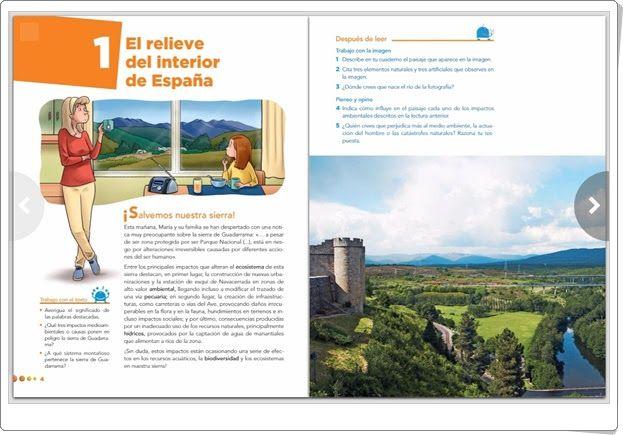 """Unidad 3 de Ciencias Sociales de 5º de Primaria: """"El relieve de España"""""""