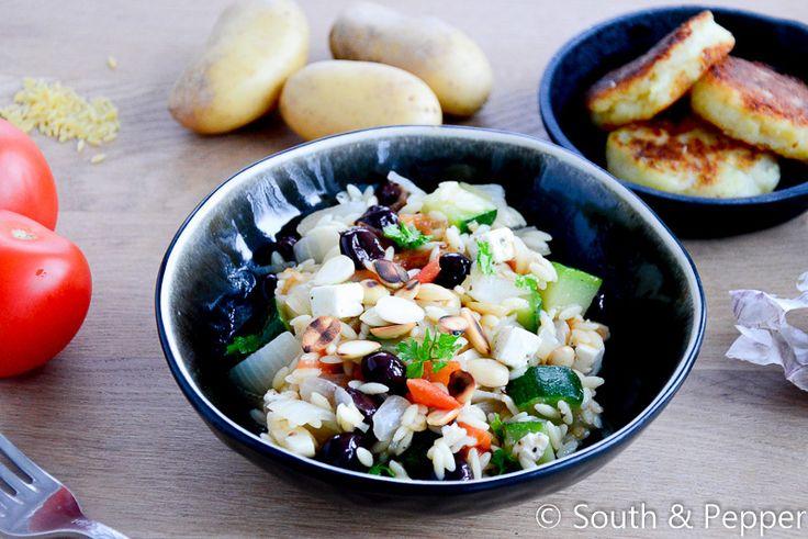 Makkelijke orzo salade
