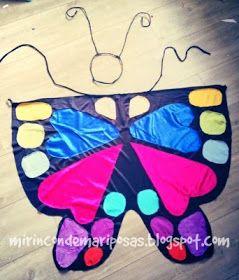 mi rincón de mariposas: Disfraz: Alas de mariposa (tutorial)
