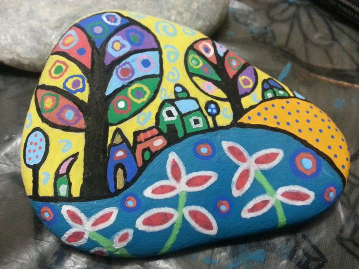 #stone#painting