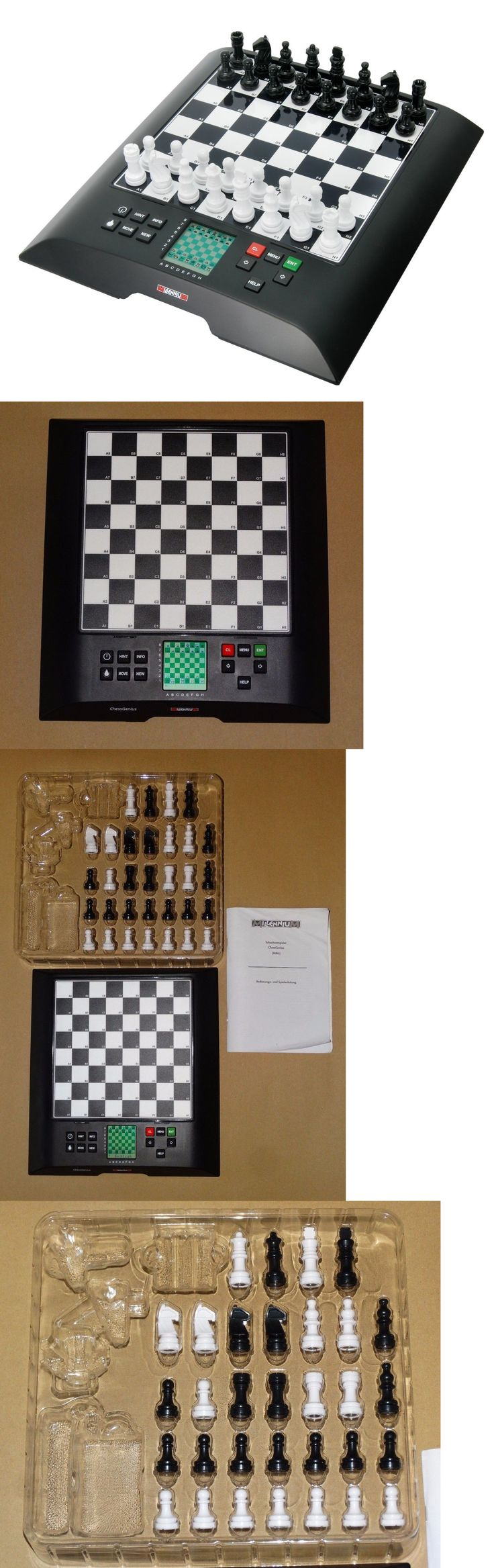 Electronic Chess 155339: New!!! Millenium Chessgenius Electronic Chess Computer M810 2000 Gmbh -> BUY IT NOW ONLY: $119 on eBay!