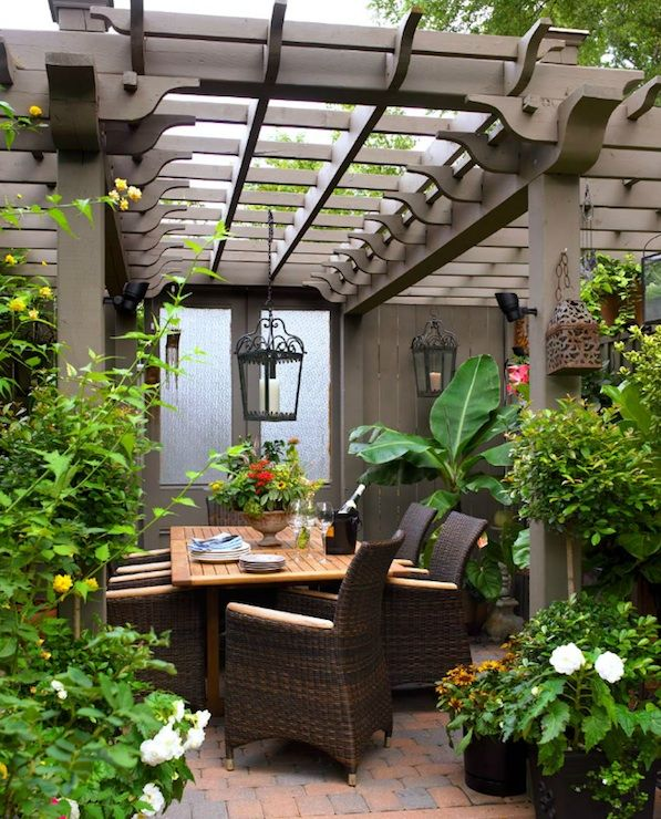 Patio Pergola And Deck Lighting Ideas And Pictures: Brandon Barre Photography