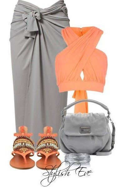 Love the Outfit &  the color combination, although I would change the color of the purse - Perfect for a pool party