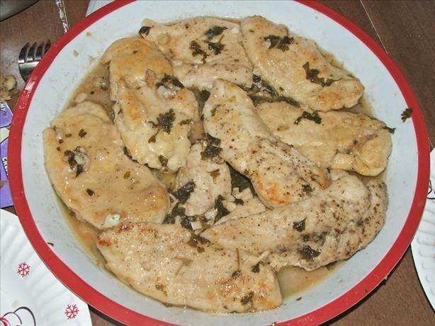 Copycat recipe - Olive Garden Lemon Chicken #copycat