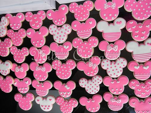 Minnie Mouse Sugar Cookie! Already have the cookie cutter and a great cookie recipe.
