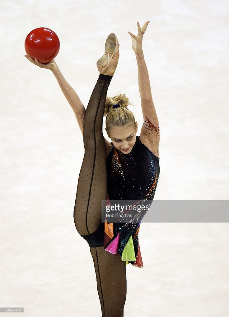 Sport, Olympic Games, Athens, Greece, 26th August 2004, Rhythmic Gymnastics, Katerina Pisetsky of Israel