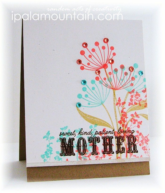 Sweet, kind, patient… Craft Dash #17 | Random Acts of Creativity also used Mother and Father