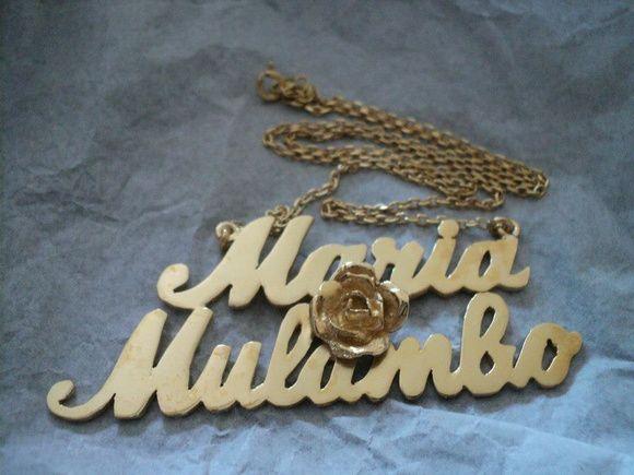 Gargantilha Maria Mulambo