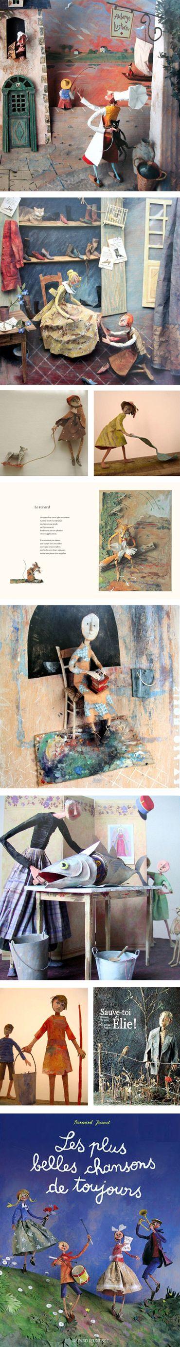 Bernard Jeunet - Sculpteur de papier -