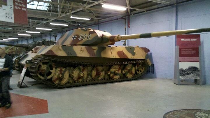King Tiger Porsche Turret Bovington Tank Museum
