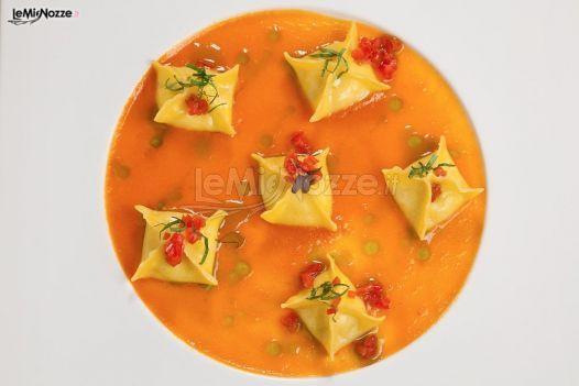 http://www.lemienozze.it/operatori-matrimonio/luoghi_per_il_ricevimento/grand-hotel-fasano/media/foto/18 Primo piatto del menu di nozze.
