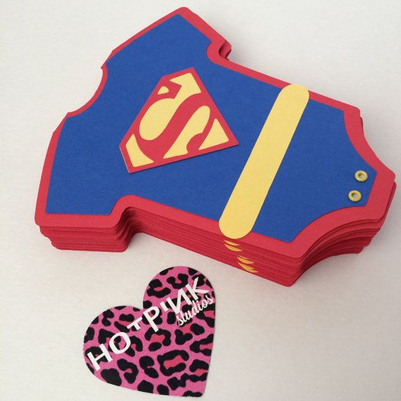 superman superman card superman onesie superman birthday invitation