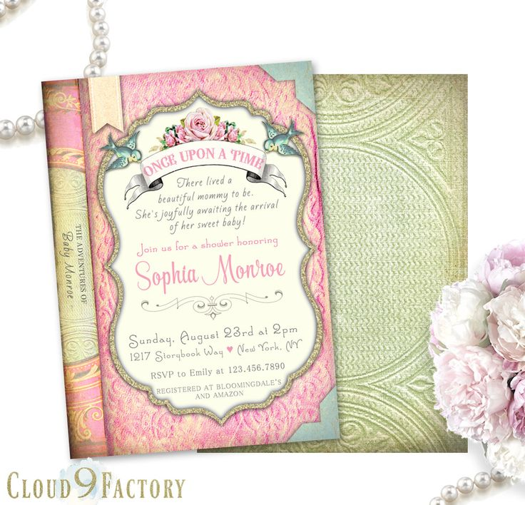 26 best baby shower invitations images on pinterest baby cards book baby shower invitation book themed baby shower invitation storybook baby shower invitation storybook invitation once upon a time filmwisefo