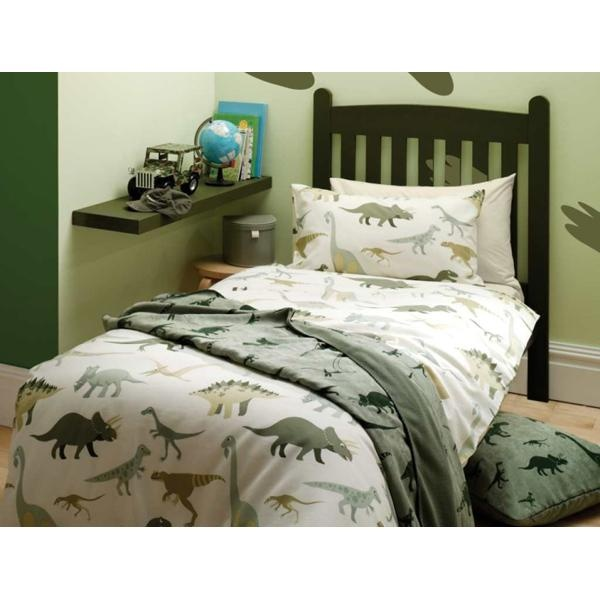 Nursery Furnishings And Linen Online Dinosaur Bedding From Mustard Monkey Uk