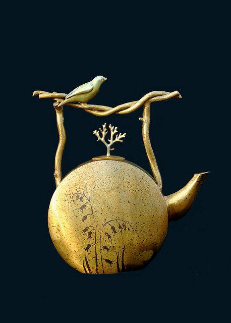 Joseph and Georgia Pozycinski - teapot