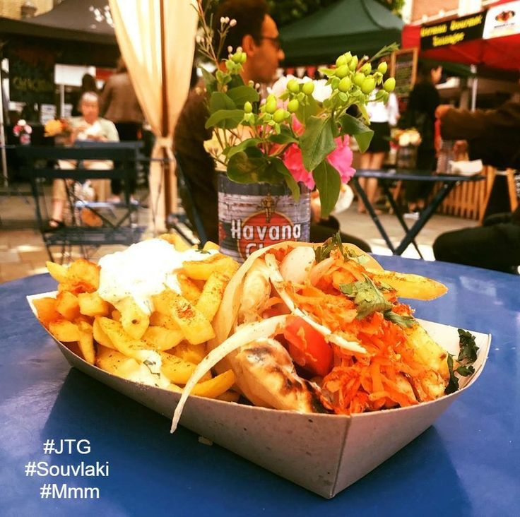 Oh yes, a bright start to a great year in #Beautiful #Reading.....Have a great #Gourmet #Greek #Souvlaki for #Lunch to commemorate the first Blue Collar Street Food #StreetFood market of 2018.  #JTG #JohnTheGreek #Berkshire #NaturalFlavours #Mmm #VisitGreece