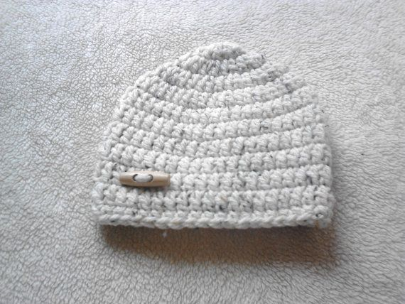 hand Crochet toddler boys hat age 12 by crochetfifi on Etsy