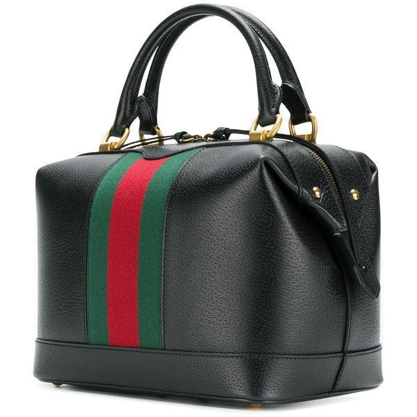 Gucci GG Web Doctors tote ($2,045) ❤ liked on Polyvore featuring bags, handbags, tote bags, handbags totes, zip tote, leather tote purse, gucci purse and zippered tote bag