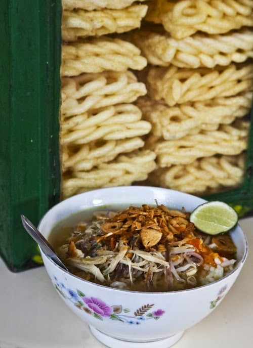 Soto Kudus (Kudus Chicken Soup) Recipe - Indonesian Food. http://foodmenuideas.blogspot.com/2014/06/soto-kudus-kudus-chicken-soup-recipe.html